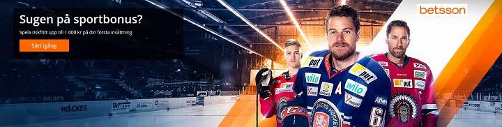 Betsson sportsbetting med 1000 kr bonus