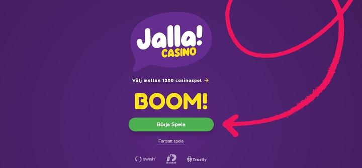 Betsson har lanserat nytt online casino - Jalla Casino