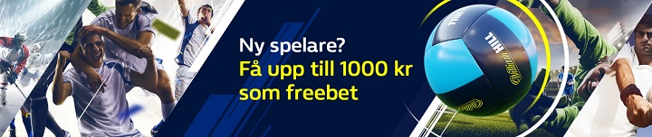 William Hill bonus med 1000 kr freebet